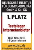 Kabel Deutschland Testsieg 2013