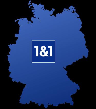 Logo 1&1 Ausbaugebiet