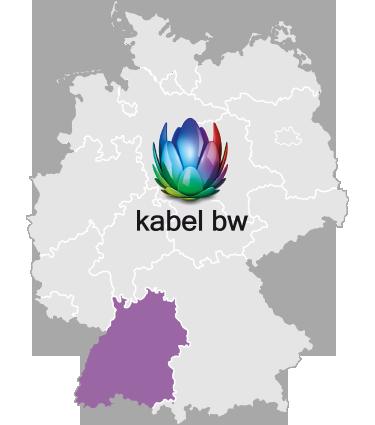 Verfügbarkeitskarte Kabel BW