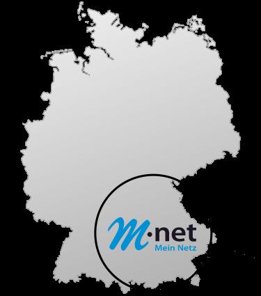 Logo M-Net Ausbaugebiet