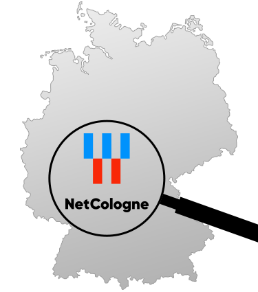 Logo NetCologne Ausbaugebiet