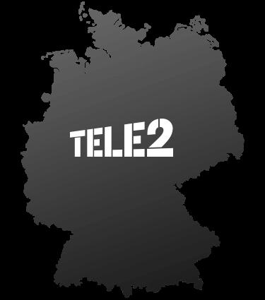 Logo Tele2 Ausbaugebiet
