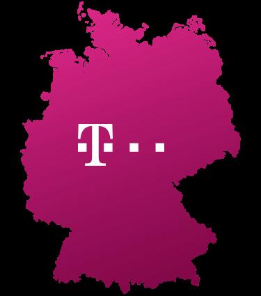 Logo Telekom Ausbaugebiet