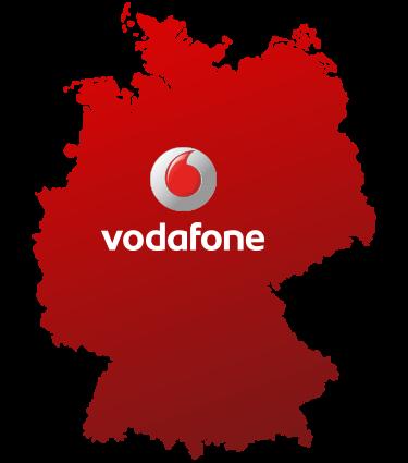 Logo Vodafone Ausbaugebiet