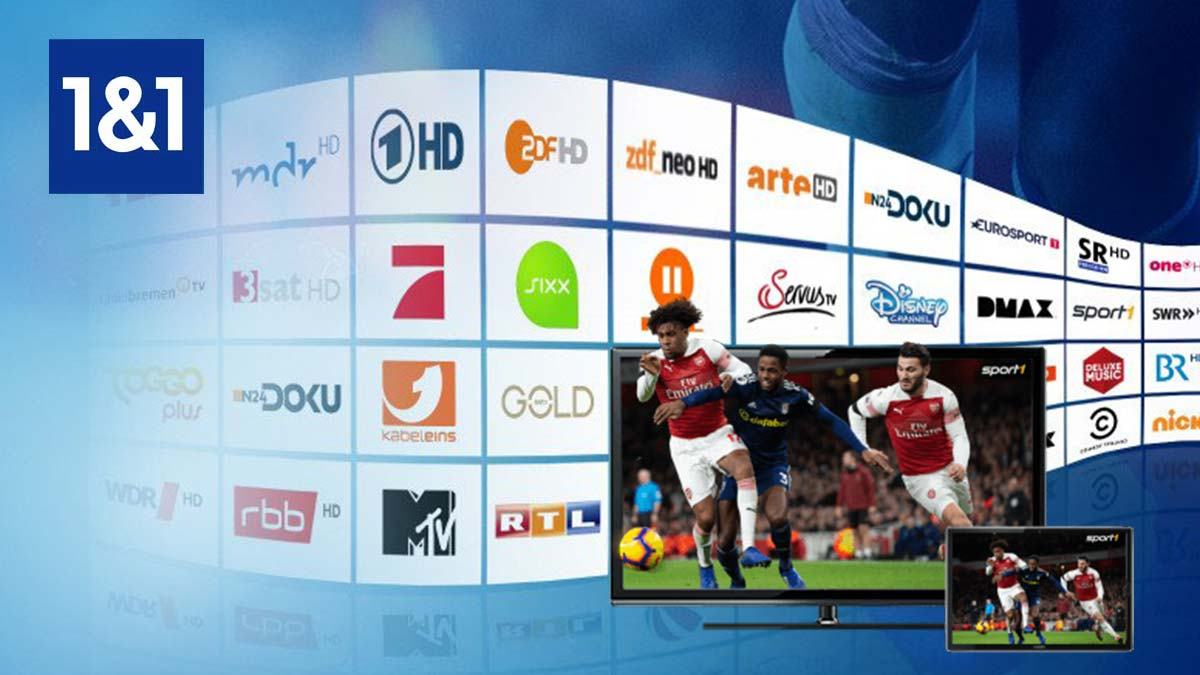 1&1 Digital-TV Basic gratis bei 1&1 DSL
