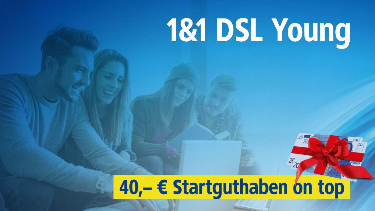 Aktion - 1&1 DSL für junge Leute