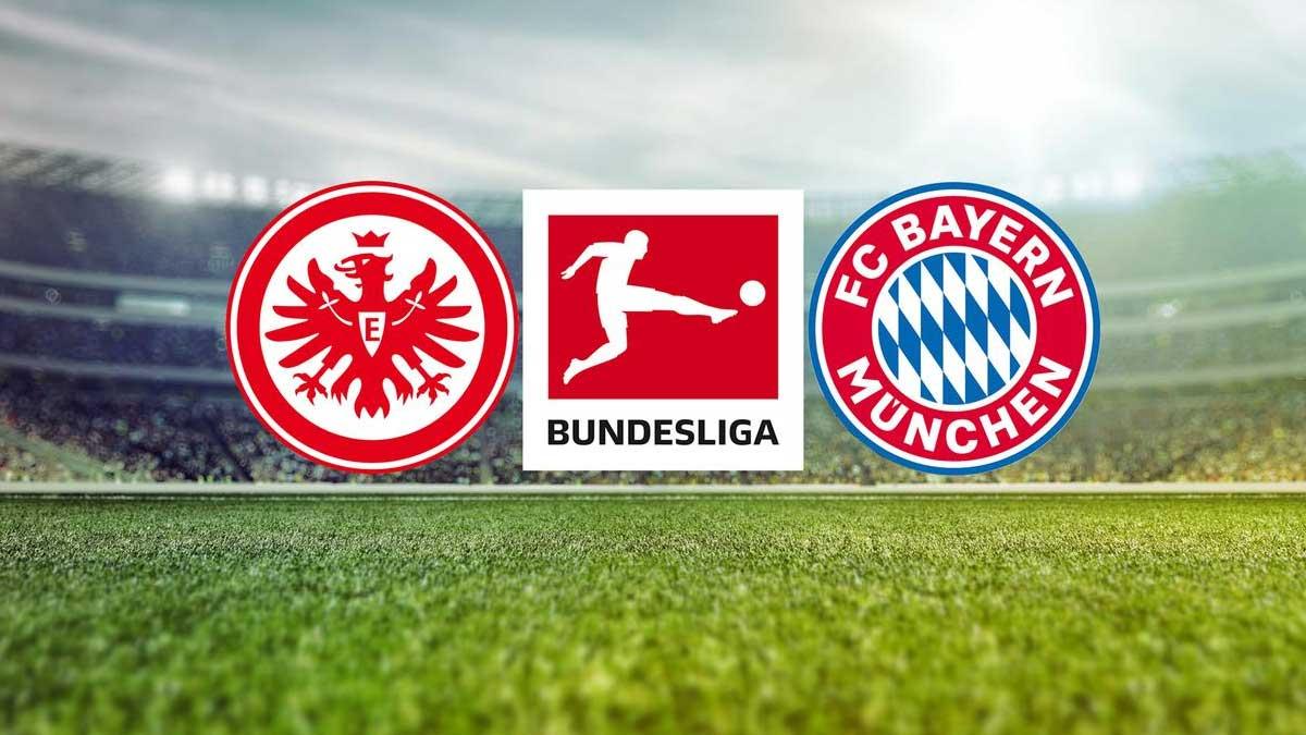 Eintracht Frankfurt gegen Bayern München live im ZDF