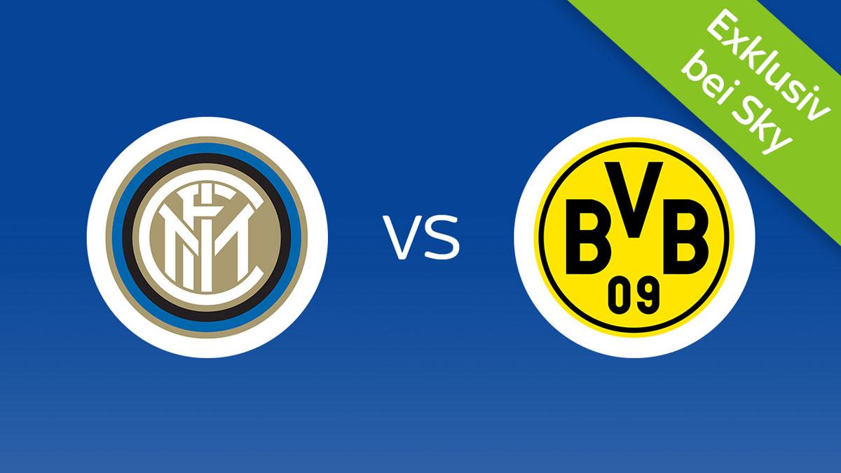 Inter Mailand vs. Borussia Dortmund live bei Sky