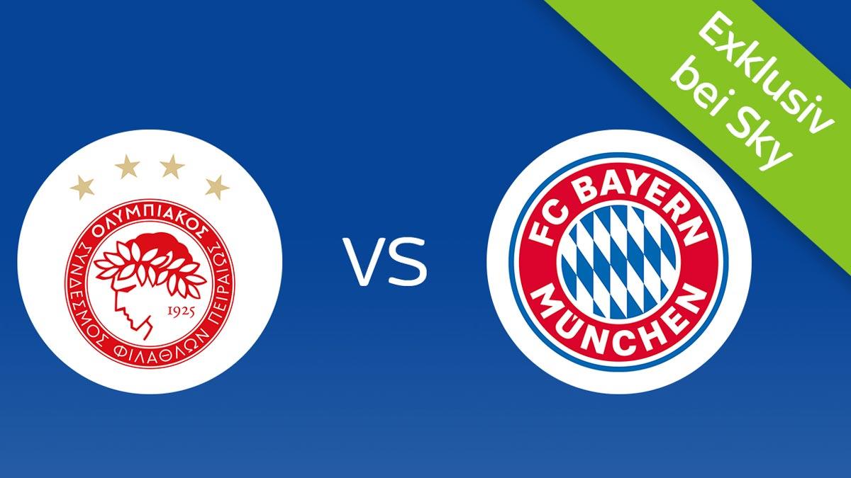 Olympiakos Piräus vs FC Bayern München live bei Sky