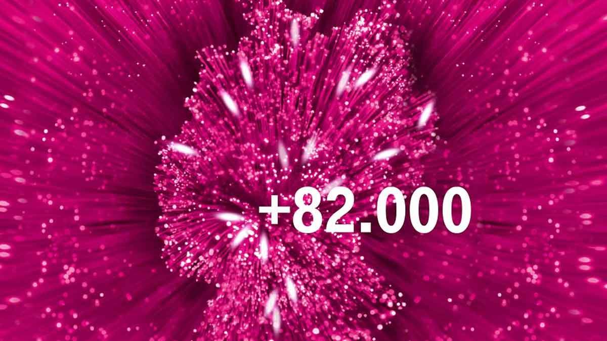 Telekom Glasfaserausbau mit +82.000 Haushalte